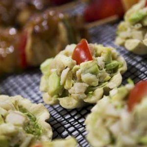 Smoked Chicken and Avo Tartlet
