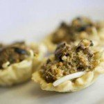 Smoked Mussel Tartlet