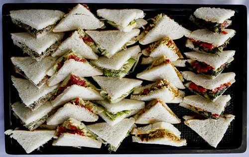 Gourmet Vegetarian Sandwich PlatterThe Business of Catering
