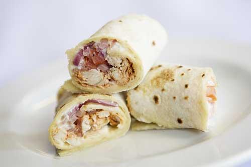 Lebanese Chicken Wrap