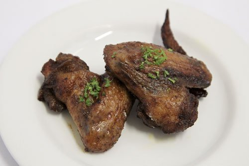 Asian Style Chicken Wings Sate