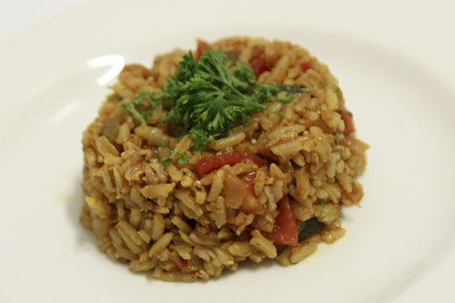 Brown Rice Barley Pilaf