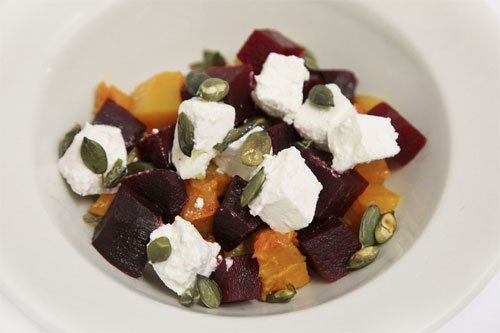 Butternut & Beetroot Salad