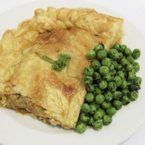 Chicken Leek Pie And Minted Peas2