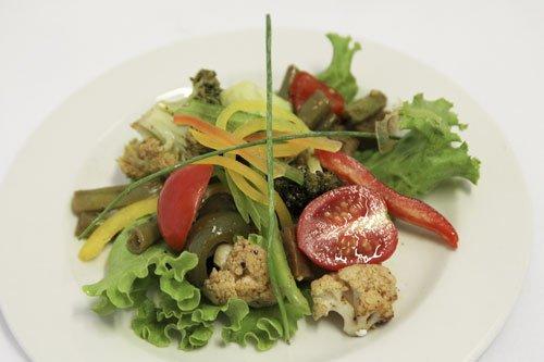 Roast Mediterranean Vegetable Salad