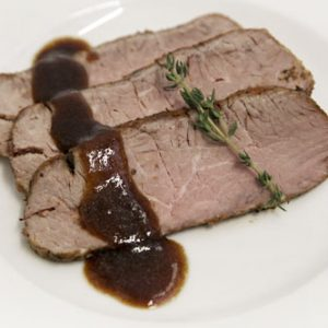 Roast Sirloin With Traditional Gravy