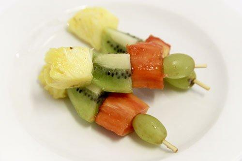 Seasonal Fruit Kebabs